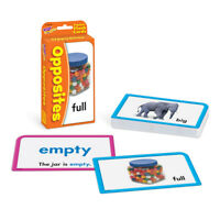 Opposites Flash Cards - Classroom/Home Use - Educational Fun Learning Tool