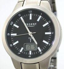 Regent Herren TITAN FUNKUHR FR-044 -DEUTSCHES W615 FUNKWERK- NEU UVP 178,00 EUR