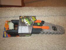 Nerf Foam Doomlands Swift knight throw N force Zombie Strike Chainsaw saw toy