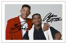 ALFONSO RIBEIRO & WILL SMITH SIGNED PHOTO PRINT FRESH PRINCE OF BEL AIR