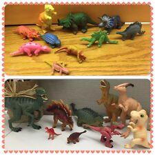 Lot Of 19 Dinosaur Figure Toys T-Rex 2007 Safari LTD Stegosaurus JW Velociraptor