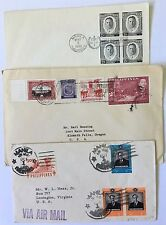 Philippines 3 cover lot 1958-1960, two mailed to USA 1958