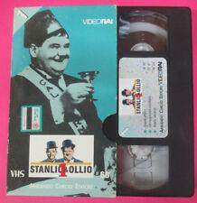 VHS film STANLIO & OLLIO 1 Armando Curcio Editore GRANDI AFFARI (F107) no dvd *
