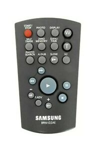 SAMSUNG CAMCORDER REMOTE  MODEL BRM-D2AE FOR SAMSUNG CAMCORDERS