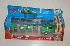 Disney Pixar Cars Team HTB Crew Pitty Chick Hicks Green New NIB