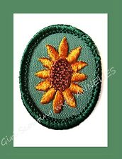 SUNFLOWER Girl Scout TROOP CREST Retired, 1963-79 Badge NEW Multi=1 Ship Charg