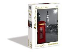 PUZZLE CLEMENTONI  PEZZI 500 LONDON PHONE BOX 7315