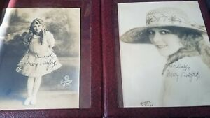 Vintage Photographs Mary Pickford w Autographs