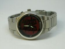 RARE Fossil Authentic JR-8083 Happiness Men's Watch Changing Face Red