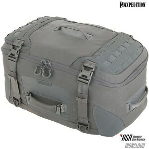 Maxpedition RCDGRY IRONCLOUD Adventure Travel Bag, Gray