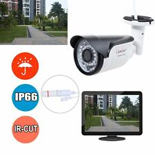 Outdoor HD 720P POE IP Bullet Camera Full HD 1.0MP Network Wired IR Night Vision