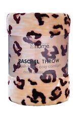 Catherine Lansfield Cheetah Raschel Throw Fleece Blanket 200x240 NEW  20523