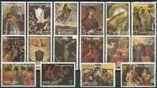 Timbres Religion Arts Tableaux Ajman o lot 28782