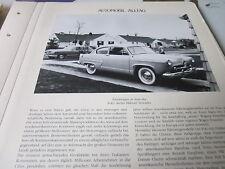 Internationales Automobil Archiv 4 Alltag 4051 Zweitwagen in Amerika USA