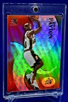 GARY PAYTON E-X RAINBOW REFRACTOR SP RARE SEATTLE SUPERSONICS