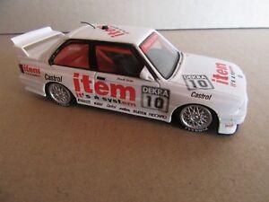 14H MINICHAMPS 932020 BMW 325I E36 DTM 1990 #10 Becker 1:43