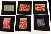 VTG LOT OF 7 35MM SLIDES 1960'S INITIATING POLY-WOGS CROSSING THE EQUATOR