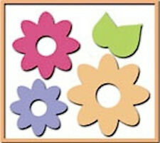 ✿ Bosskut 3 Nesting 3D Flowers & 2 Leaves Die ✿ New For Cuttlebug & Sizzix ✿