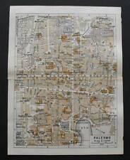 Antica Stampa=Topografica=PALERMO PA=Scala1:10500-1909c
