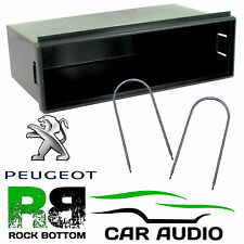 Peugeot 207 307 308 Single DIN Car Stereo Radio Pocket Fascia Facia Tray & Keys