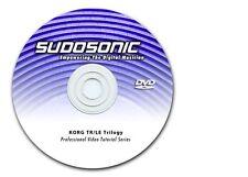 DVD Video Tutorial Korg Triton Le Tutorial Lessons ( 4-1/2 hrs )