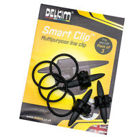 Delkim NEW Carp Fishing Smart Clip - 3 Pack - Used for Bite Alarms - Free P+P