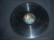 """Opera Disc Co 76091 Enrico Caruso - Forza del destino (Verdi) 1910 12"""" 78 RPM"""
