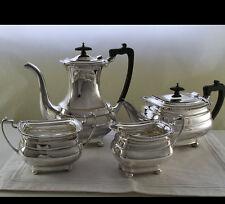 Tea & Coffee Set,4 Pc.,  Gadroon & Shell