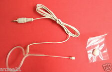 Skin color Single ear Headset Head Mike Microphone for Wireless Mic System PC