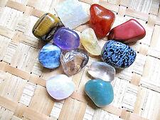 207-Pochette de 12 pierres différentes-Lithothérapie-Feng shui