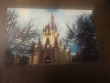 Vintage Postcard Unposted Walt Disney World FL Cinderella Castle
