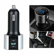 Car Kit Handsfree Wireless Bluetooth FM Transmitter MP3 Player Dual USB Charger