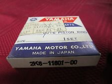 Yamaha YZ 125 piston rings new 2K6 11601 00