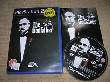 THE GODFATHER  - Rare Sony PS2 Game