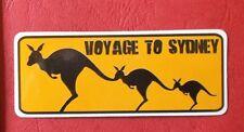 """Pegatina """"Voyage To Sydney"""" Aspecto Brillante Pegatinas Skateboard Portátil"""