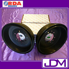 RDA Rear Brake Drums FORD RANGER PJ, PX (early series) 2WD 10/2006-10/2011