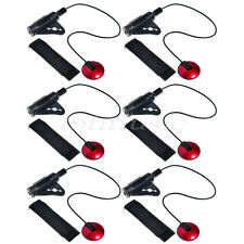 6pcs Upgrade Piezo Contact Microphone MIC Pickup For Guitar Violin Banjo Ukulele