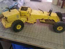 VINTAGE   TONKA TURBO DIESEL GRADER  all metal - Needs Restoral or parts