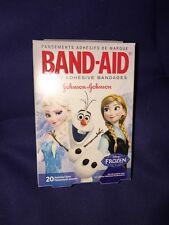 Disney Frozen Band Aids Bandages 20 In Pack 3 Motives kids new Anna Elsa Olaf