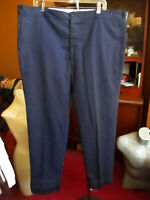 42x30 FIT True Vtg 70s SEARS NAVY BLUE FEATHERWEIGHT Work jeans Pants USA