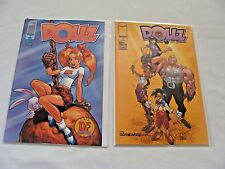 The Dollz 1 & 2 Dynamic Forces & My Comicshop.com Variant (2001, Image) LOT of 2