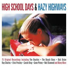 HIGHSCHOOL DAYS & ENDLESS 3CD NEW! TOMMY ROE/BOYD BENNETT/PAT BOON/HANK WILLIAMS