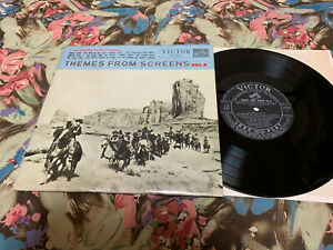 """THEMES FROM SCREENS-Vol.3  Rare Japan 10""""LP"""