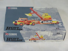 Corgi Heavy Haulage 31010 Short Bros. Camion SCAMMELL & Pelle 1/50° NM/B  (#A9)