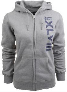 Nike NFL Women Super Bowl Classic Fleece Zip Sweatshirt jacket hoodie football