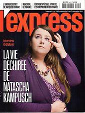 Mag L'EXPRESS 2016: Interview NATASCHA KAMPUSCH_NATHALIE BAYE_NICK CAVE