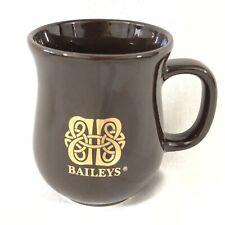 Baileys Ceramic Mug, Dark Brown with Gold lettering