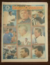 DALLAS COWBOYS WEEKLY~1/11/86~ASSISTANT COACHES~ WITH CHEERLEADER CENTERFOLD