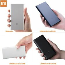 ORIGINALE XIAOMI POWER BANK CARICABATTERIA PORTATILE ESTERNO UNIVERSALE USB Battery Pack