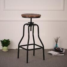 naturel pinède Tabouret pivotant réglable hauteur Chaise de salle à manger K7R2